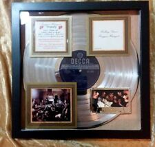 Rolling Stones Platinum Award (Beggar's Banquet - 1968) authentic Certified