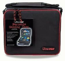 Ultra Pro Portable Gaming Case (Large) Red Trim MTG WoW Yugioh Pokemon BRAND NEW