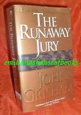 "#1 NEW YORK TIMES BESTSELLER ""THE RUNAWAY JURY"" By John Grisham Fic/Novel"