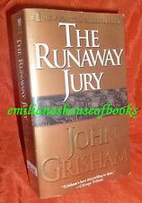 "#1 NEW YORK TIMES BESTSELLER ""THE RUNAWAY JURY"" By John Grisham Fic/Novel"