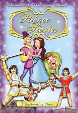Prince Stories (DVD, 2006) Hunchback, Hercules, Moses...008