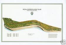 Royal Dornoch Golf Club -1876 - Old Tom Morris- VintageGolfCourseMaps print