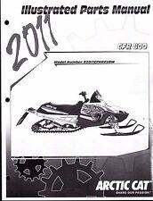 2011 ARCTIC CAT SNOWMOBILE CFR 800 PARTS MANUAL P/N 2258-774  (762)