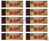 Raw Paper Roach Filter Tips Chlorine free Filter tips/Roach (x10 pack)
