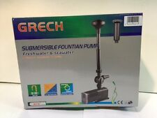 Submersible 2000L/H Fountain pump with Fountain Heads