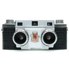 Wollensak Stereo 10 Film Camera with Case