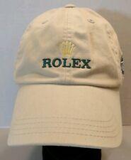 ROLEX AUTHENTIC STRAPBACK CAP GOLD CROWN GREEN LOGO AJGA US JUNIOR GOLF ASSN
