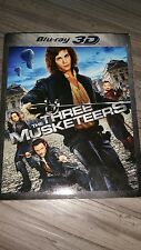The Three Musketeers (Blu-ray Disc, 2012, 2-Disc Set, 3D)
