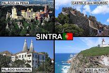 SOUVENIR FRIDGE MAGNET of SINTRA & PENA PORTUGAL