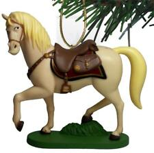 "Disney Rapunzel Tangled Maximus Horse Christmas Holiday Ornament PVC Figure 4"""
