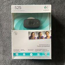 NEW Logitech C525 HD Webcam USB Portable 360 Rotating 720p Video AutoFocus w/mic