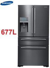Samsung SRF677CDBLS 680L 4 Four Flex French Door Fridge Refrigerator