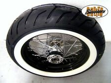 180/65-16 WEIßWAND www wheel roue 4,5x16 Noir Jante Pour Harley Sportster 08-16
