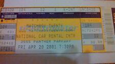 Matchbox Twenty Concert Ticket Stub - April 20, 2001