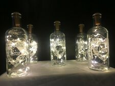 Wedding Party Table Decorations Cork Lights Vase Centerpiece Wine Bottle Numbers