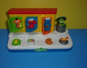 Fisher-Price Sesame Street Singing Pop-Up Pals Oscar Elmo Cookie Monster Ernie