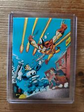 1992 Wolverine Trading Cards in Topload Card Holder #2 Change