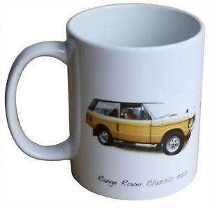 Range Rover Classic 1977 - 11oz Ceramic Mug - Gift for the Car Enthusiast