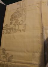 Damask Tablecloth And 6 Napkins Occupied Japan Floral Design Unused 50 X 50&1/2