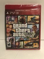 Brand New! Factory Sealed! Grand Theft Auto V Greatest Hit! PS3 Free Shipping!