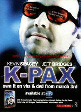 """K-Pax """"From March 3rd MVC"""" 2003 Magazine Advert #5556"""