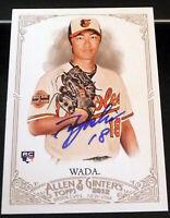 Tsuyoshi Wada SIGNED 2012 Topps Allen & Ginter #252 Baltimore Orioles AUTOGRAPH