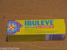 IBULEVE SPEED RELIEF MAXIMUM STRENGTH GEL  40g NEW/BOXED expiry 2020/21