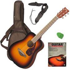 Yamaha JR2 Junior Acoustic Guitar - Tobacco Sunburst GUITAR ESSENTIALS BUNDLE