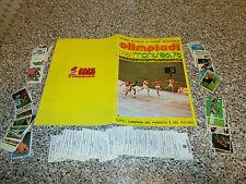 ALBUM OLIMPIADI MONTREAL 76 EDIS OTTIMO CON 160 FIGURINE NUOVE DA ATTACCARE