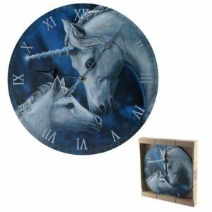 Decorative Fantasy Unicorn Wall Clock - Sacred Love