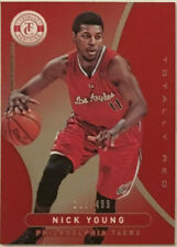 2012-13 NICK YOUNG TOTALLY CERTIFIED RED PARALLEL CARD MINT 338/499!