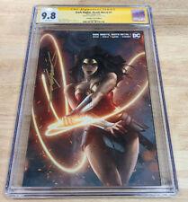 Dark Nights Death Metal #1 Jeehyung Lee Wonder Woman Variant CGC SS Minimal 9.8