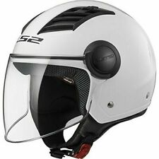 LS2 Airflow OF562 Casco Moto Taglia XS - Bianco Lucido