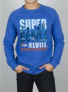 Junk Food ~ Denver Broncos Super Bowl XLVIII Sweatshirt $65 NWT