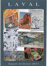 Catalogue VENTE BD Underground Comics USA et Franco belge. LAVAL 21 février 2015