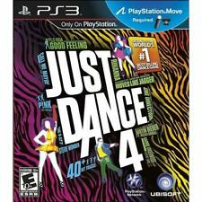 Just Dance 4 For PlayStation 3 PS3 Music Very Good 0E