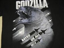 GODZILLA t shirt men's Medium Ishiro Honda monster Japan horror sci fi movie
