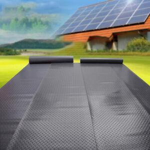 Black Rubber Matting Gym Garage Flooring Matting Heavy Duty Textured Anti-Slip