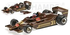 MINICHAMPS 100 790031 LOTUS FORD 79 F1 model car Hector Rebaque 1979 Ltd Ed 1:18