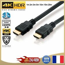 Cable HDMI 2.0 - 3m 60hz Elitecable Full HD 1080p 3d 18gb/sec