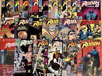 (21) ROBIN COMICS LOT 1-5 II #1-4 Complete Sets NEWSSTANDS HOLOGRAMS + VARIANTS