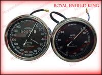 Smith Replica Speedo 0-160 KMPH & Tacho RPM Meter Pair For BSA, Vincent, Ariel