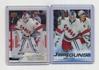 2019-20 UD SP AUTHENTIC #519 YOUNG GUNS & #54 GDM - DAVID AYRES