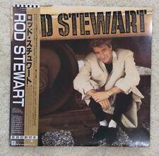 ROD STEWART - WLP PROMO - JAPAN - JAPANESE - OBI - RARE LP VINYL-Obie