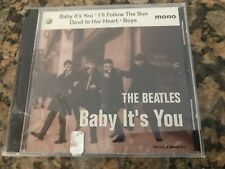 The Beatles Baby Its You 4 Song CD BBC Sampler 1995 Sealed