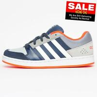 Adidas Neo Casual Junior V Jog K Retro Running Trainers Blue
