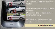Ford BA BF Sedan Wagon Ute FRONT LEFT Falcon XT Genuine Mudflaps Mud Flaps Flap
