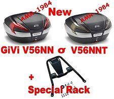 BMW R 1150 R 2001 2006 VALISE COFFRE V56NN V56NNT COUVERTURE NOIR + CADRE SR683
