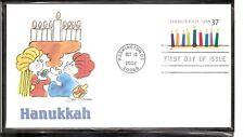 US SC # 3672 Hanukkah FDC. Fleetwood Cachet