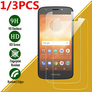 For Motorola Phone Tempered Glass Screen Protector Ultra Slim Film Cover Clear